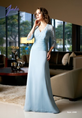 Free Shipping Gorgeous Sleeves Chiffon Vestido De Festa 2016 New Arrival Fashion Lace Sexy Long Mother Of The Bride Dresses