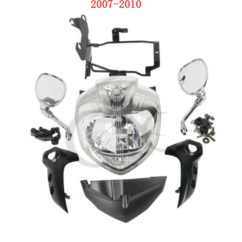 Motorcycle Headlight Headlamp Head Light Assembly For Yamaha FZ6 FZ6N 2004-2006 2004-2011 2007-2010