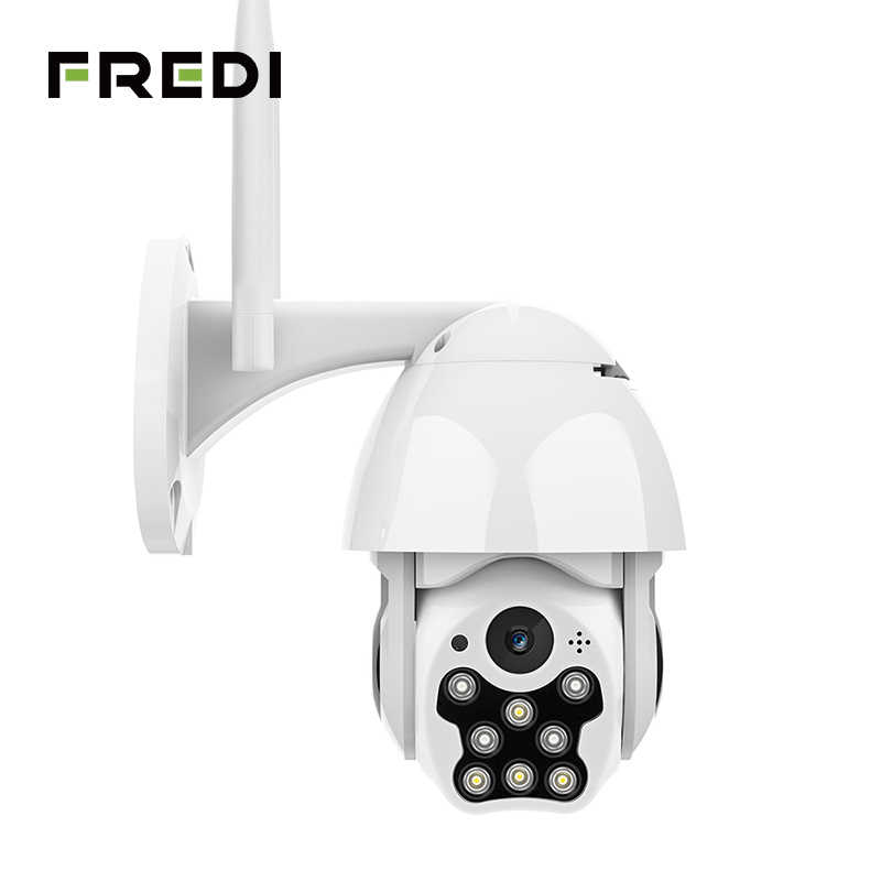 Fredi Auto Tracking Waterdichte Outdoor Ip Camera 1080P Speed Dome Draadloze Wifi Veiligheid Bewakingscamera 'S Cctv Camera YCC365