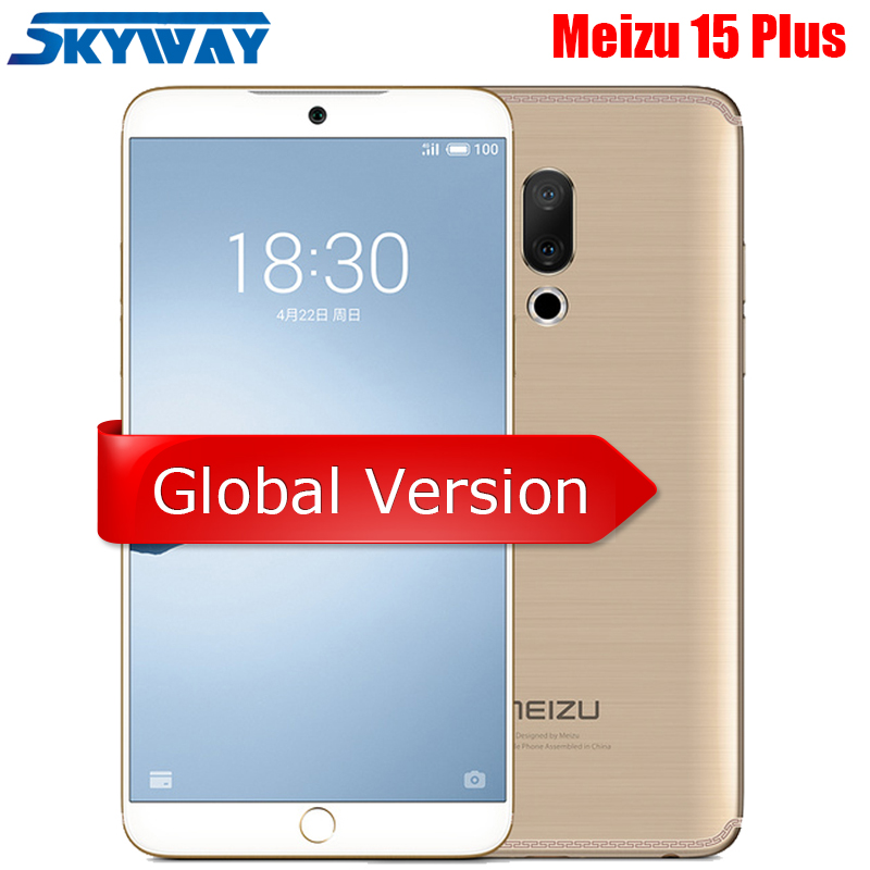 "Original Meizu 15 Plus 4G LTE 6GB 64GB Exynos 8895 Octa Core 5.95"" 2560x1440P Fingerprint Fast charger Smart Phone|Cellphones| - AliExpress"