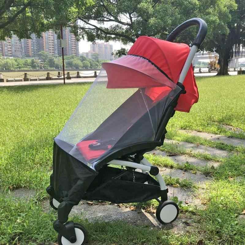Carrinho de bebê Mosquito Net Acessórios Carrinho Carrinho de Bebé Mosquito Net Seguro Malha Buggy Berço Compensação Rede de Cobertura Completa