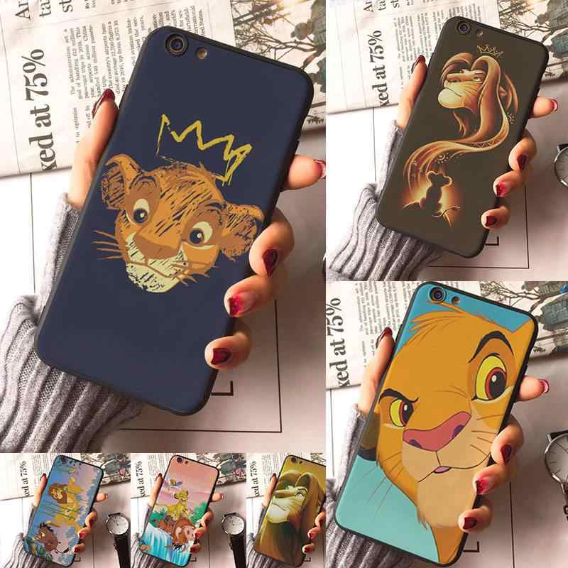 The Lion King New Case untuk iPhone X XR X MAX 8 8 PLUS Aksesoris Ponsel untuk iPhone 6S 6S PLUS 6 6 Plus 5 S 5
