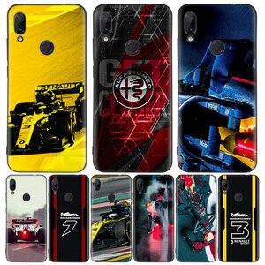 Черный чехол для телефона Formula 1 для Xiaomi Redmi Note 8T 10 9S 8 7 8A 7A 6A Mi 10 9 8 CC9 K20 Pro Lite Coque