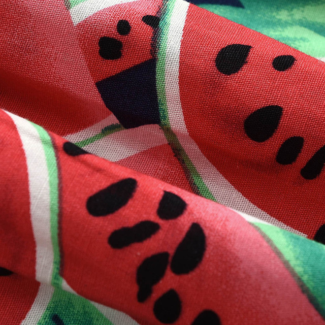 Newborn Infant Baby Rompers Boys Girls Clothes Watermelon Print Long Sleeve Jumpsuit +Hairband Outfits Set Toddler Baby Onesie 5