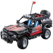 Decool 33002 750 pçs série técnica mecfactor scorpion-suv blocos de construção tijolos carro esportivo brinquedos crianças