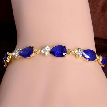 Women's Fashion Colorful Bracelets Bracelets Jewelry New Arrivals Women Jewelry Metal Color: H261