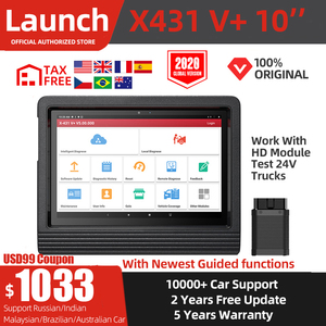 Launch X431 V Plus Car Diagnostic Tool Scanner V+ Full System Automotive OBD2 Scanner Auto Diagnostics Scan Tool