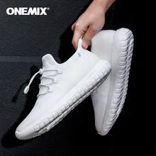 ONEMIX 2020 Men & Woman Road Running Shoes White Breathable