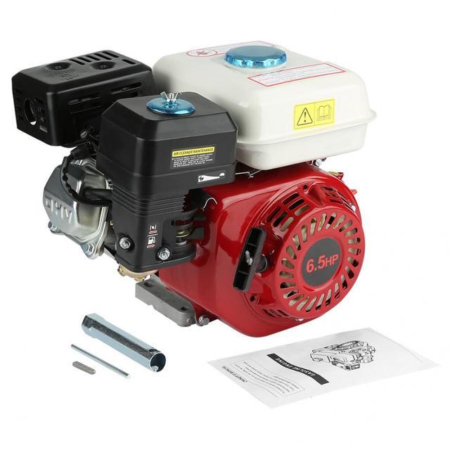 4 Stroke 6.5HP Pull Start 168F OHV Replacement Petrol Engine Drive Shaft Diameter 20mm