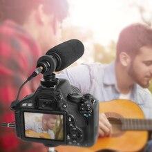 цена на MAONO CM10 Camera Smartphone Microphone Condenser Shotgun Video Mikrofon Interview Mic for Canon Nikon DSLR Camera Camcorder PC