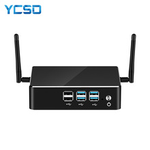 YCSD Mini PC Intel Core i7 8550U i5 8250U i3 4K UHD DDR4 RAM Windows 10 WIFI HDMI 8*usb Quad Core Gaming Pc Computer Nuc HTPC
