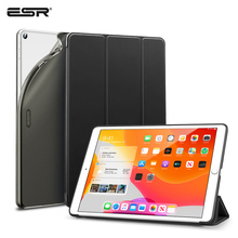 """Тонкий умный чехол ESR Rebound для iPad 7th Gen, гибкий чехол из ТПУ с прорезиненным покрытием, чехол-накладка для iPad 7 10,"""" Folio"""
