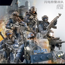 Набор солдат строительные блоки Военная мини-пушка Обучающие игрушки подарок для мальчиков и девочек совместимы со всеми крупными брендами серии