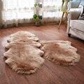 Пушистый меховой ковер Sholisa  напольный ковер из меха карперта для спальни  овчина 6 см  ворс для гостиной  дома  деко
