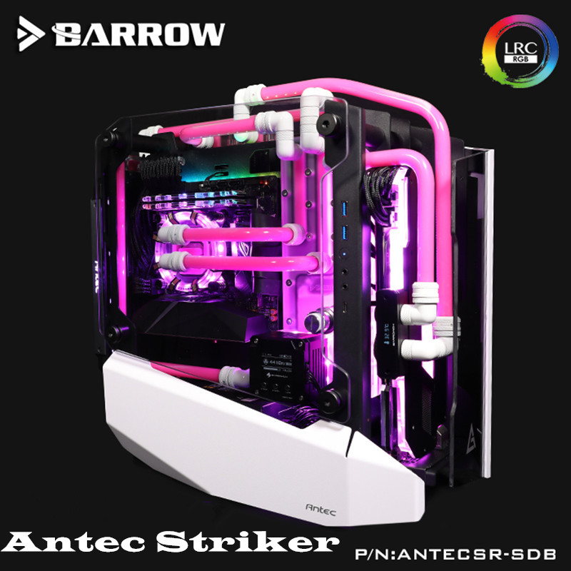 Barrow Waterway Boards For Antec Striker Case For Intel CPU Water Block & Single GPU Building RGB 5V 3PIN Waterway ANTECSR-SDB image