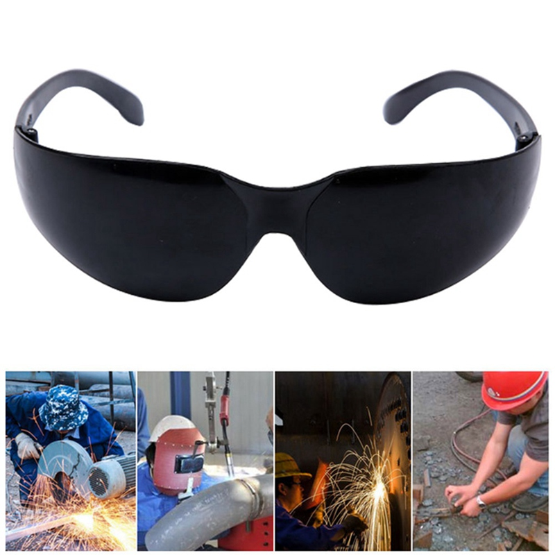 Black Anti-strong Photoelectric Welding Glasses Electric Welding Protective Glasses Protective Eyepieces