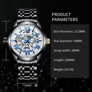 Image 2 - Lavaredo, reloj mecánico automático de lujo para hombre, reloj de pulsera de acero inoxidable de negocios de primera marca A5