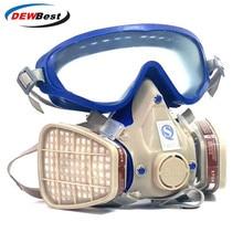 Goggles Chemical-Mask DEWBEST Respirator Paint Fire-Escape Pesticide-Dustproof Gas-Comprehensive-Cover