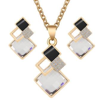 Fashion Crystal  Women's Jewelry Set  4