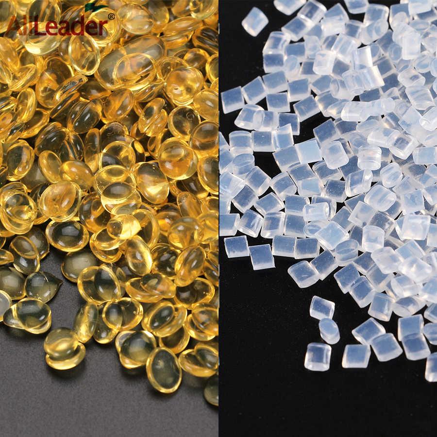 Alileader wysokiej jakości 20/50/100G 100% włoski keratyny klej koralik/granulki/ziarna biały brązowy kolor Fors I wskazówka/w kształcie litery U końcówki do przedłużania włosów