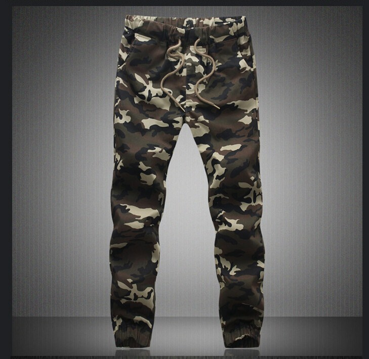 Mens New Fashion Camouflage Slim Fit Harem  Pants Suspender Trousers Overall a59