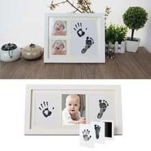 Набор для рисования ног и рук 0 6 месяцев милый безопасный нетоксичный