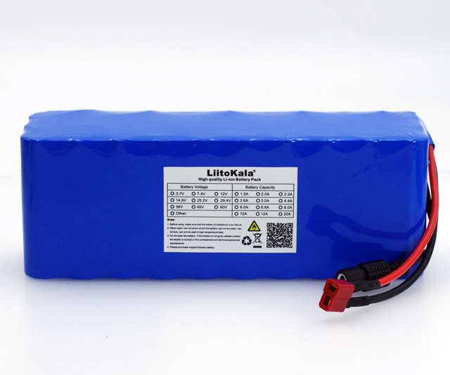 Аккумуляторная батарея LiitoKala, 36 В, 7800 Ач, 10S3P, 18650 мАч
