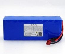 LiitoKala 36V 7.8Ah 10S3P 7800mAh 18650 Paquete de batería recargable, bicicletas modificadas, vehículo eléctrico 36V Protección PCB