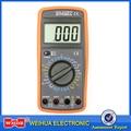 WHDZ DT9205A основной цифровой мультиметр Емкость hFE Тест Амперметр Вольтметр тестер сопротивления AC DC Электрический ЖК-дисплей ручной