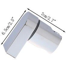Полированный хром Кронштейн ручной Ванная комната настенное крепление вешалка из abs ползунок современная вешалка Насадки для душа держатель Регулируемый