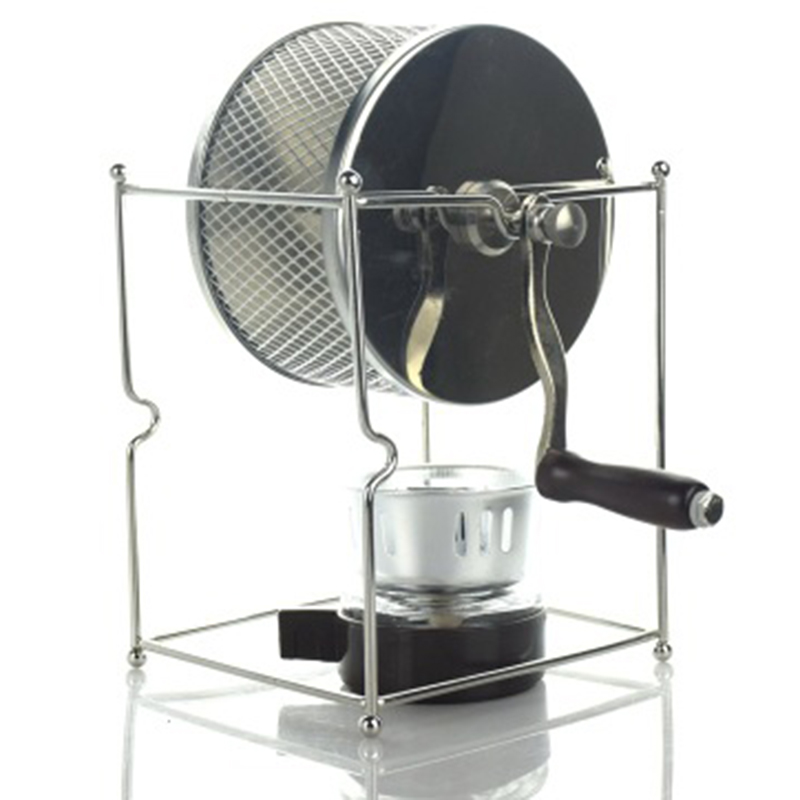 Top Deals DIY Stainless Steel Coffee Bean Baked Machine Mini Manual Beans Roaster(China)
