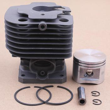 44MM Cylinder Piston Kit For Stihl FS400 FS450 FS480 SP400 FR450 /W Pin Ring Trimmer Brush Cutter Parts 4116 020 1215 38mm cylinder piston pin ring kit for stihl fs120 fs200 fs200r fs250 parts 4134 020 1212 brush cutter trimmers