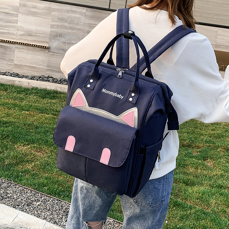2019 New Style Diaper Bag Backpack Multi-functional Large-Volume Modern And Trendy/women Infant Nursing Lightweight Mommy Bag