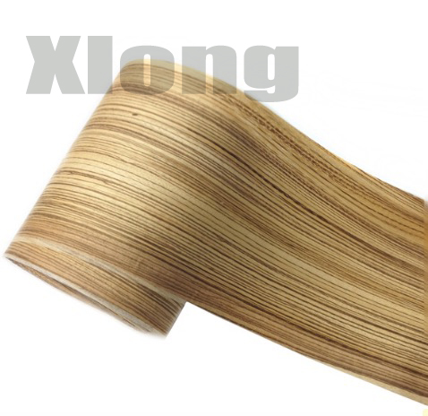 2Pieces/Lot Length: 2.5Meters Width: 16cm Thickness:0.25mm Zebra Veneer Decoration Door Veneer