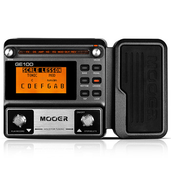 Professional Guitar Effect Pedal Multi-effect Processor With Recording Integrated Effects Pedal For Guitar Accessories