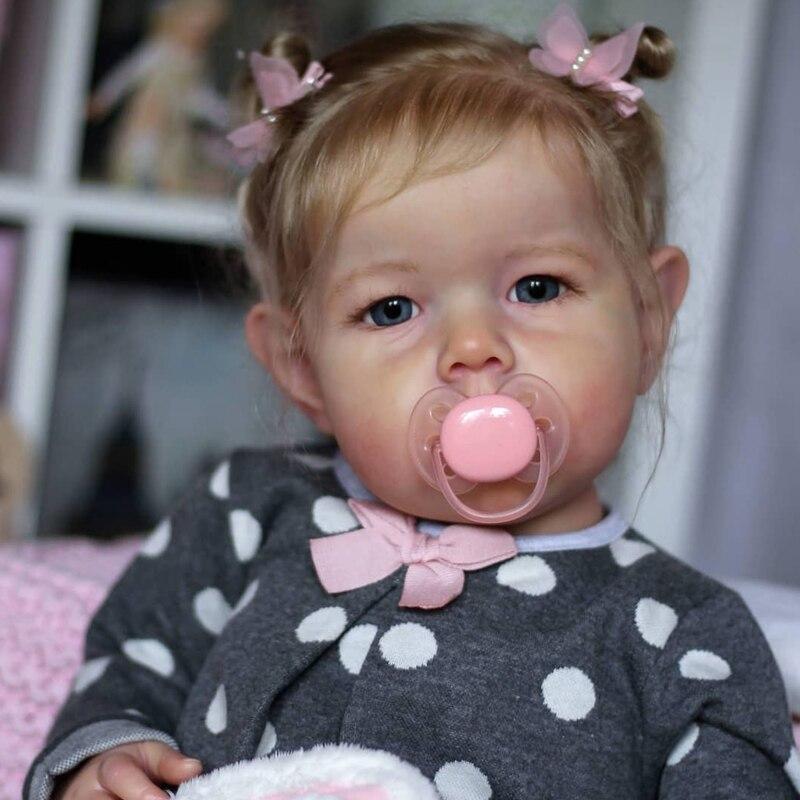 Rbg kit renascer bebê kit de vinil 20 polegadas liam unpainted inacabado peças boneca diy em branco reborn kit de boneca de vinil
