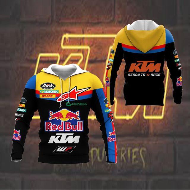 Hoodie sweatshirtMen's Hoodie Brand New 3D Digital Print Hoodie Casual Jacket Spring Autumn Motorcycle 5