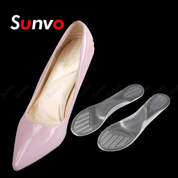 Silicone Gel Shoe Inserts Women Sandals Insoles for High Heel Shoes Pad Flat Foot Arch Support Massage Insoles Foot Heel Cushion efbaba silicone gel insole women shoe pad arch supports massage foot pad heel pain relief orthopedic shoes insoles accessoires