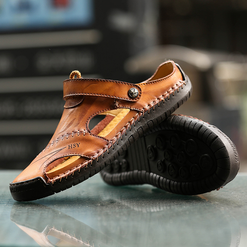 Roman Sandals Slipper Trekking Outdoor Big-Size 48 Classic Beach Men