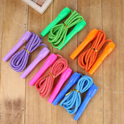 Kindergarten Jump Rope Exclusive For Children Beginners Adjustable Jump Rope Students Team Game Not Knot Anti-Winding A-Piece