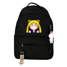 купить Anime Backpack Sailor Moon Women Crystal For Teenagers Girls School Bags School Backpacks Kids Bag по цене 1767.01 рублей