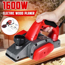 Electric Planer 1800W/1600W/1200W Carpentry Tools Woodworking Multi-function Household Hand Plane Wood Cutting Planing Machine