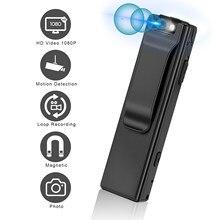Vandlion A3 Mini aparat cyfrowy HD latarka Micro Cam magnetyczna kamera noszona na ciele wykrywanie ruchu migawka kamera do nagrywania w pętlę