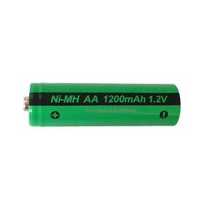 Image 4 - 4pcs PKCELL AA NiMH 충전식 배터리 aa 1200mAh 1.2V Ni MH 산업용 배터리 Bateria Button Top
