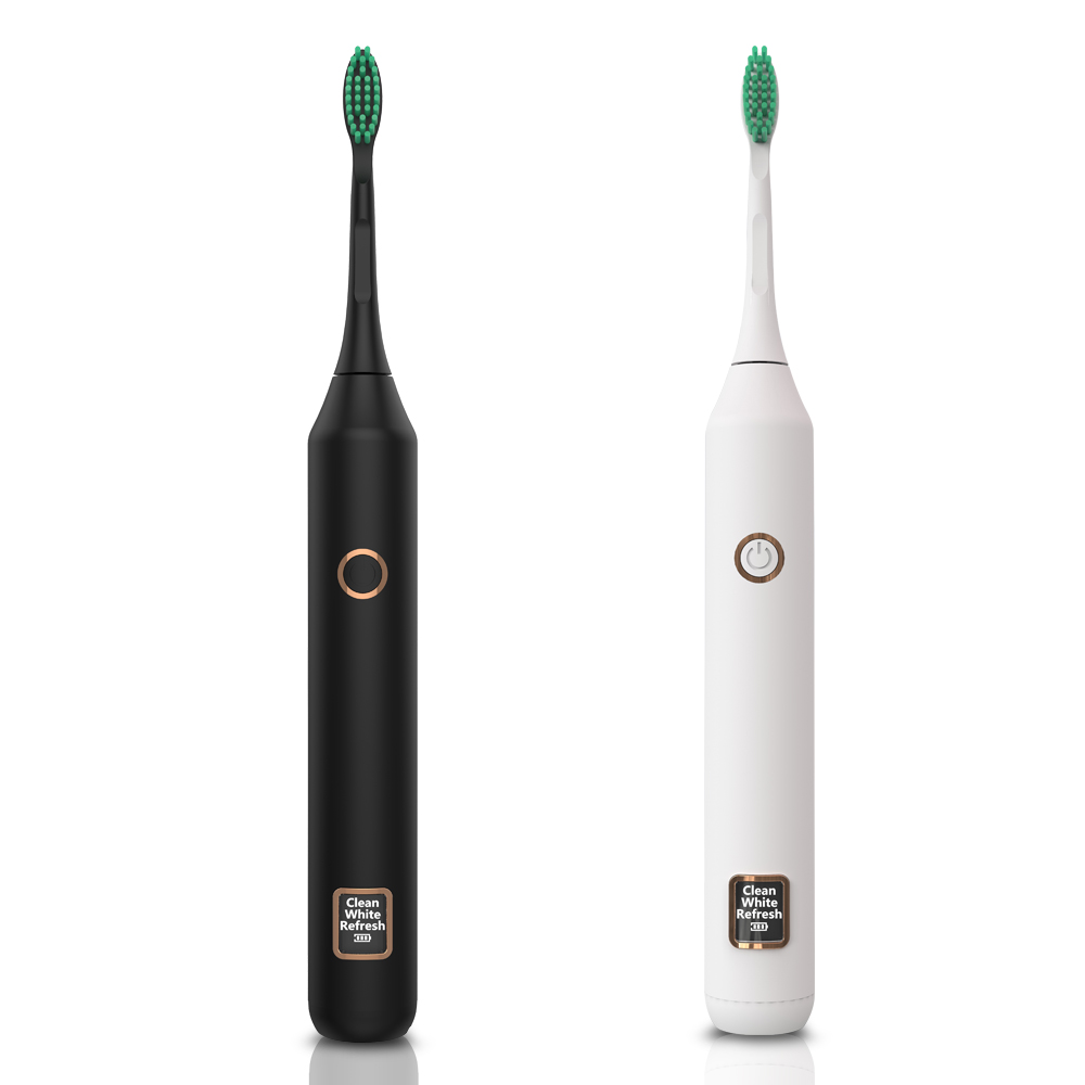 Electric Toothbrush Sonic Wave Rechargeable Top Quality Smart Chip Toothbrush Head Replaceable Whitening Healthy Best Gift ! image