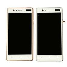 עבור Nokia 3 TA 1020 TA 1028 TA 1032 TA 1038 LCD תצוגה + מסך מגע digitizer עצרת