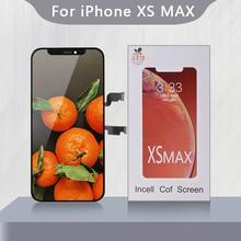 ЖК дисплей RJ Incell для IPhone XS Max, дисплей с 3D сенсорным экраном и дигитайзером в сборе, прекрасный ремонт, ЖК дисплей, AAA +++