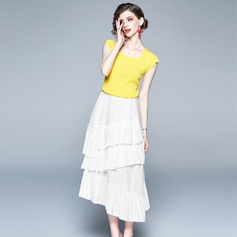 2020 fashion Spring summer women chic coat white irregular Sashes slim female OL work elegant ladies outwear