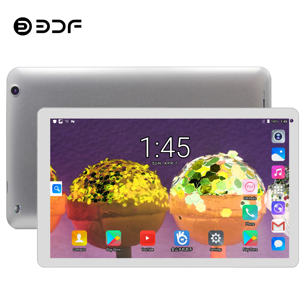 BDF 2019 TOP Tablet 10 Inch Tablet Pc Android 5.1 Tab Quad Core Google Play 1GB/32GB Tablets Pc Small Computer WiFi Tablets 10.1