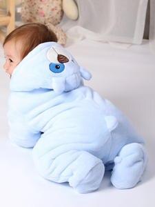 HH Plush Jumpsuit Costume Overalls Romper Pajamas Animal Flannel Newborn-Baby Baby-Girl